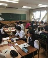 浦和高校との勉強会(浦和高校にて)